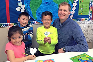 Tumbnail for: A Chat with Milken Family Award Recipient- Dual Language Teacher of the Month Chris Bessonette!