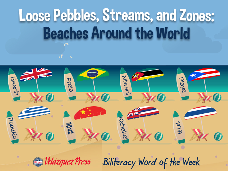 Tumbnail for: Do You Like Your Beach Sandy or Rocky? How Different Languages Name the Word Beach