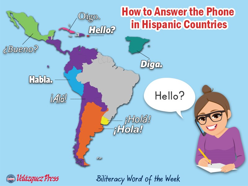 Tumbnail for: How to Answer the Phone in Hispanic Countries?
