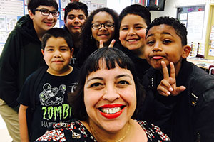 Thumbnail of Teacher of the Month: Ms. Angelina Sáenz