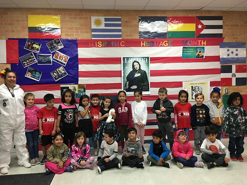 Dual Language March Teacher of the Month: Hidie Cabral
