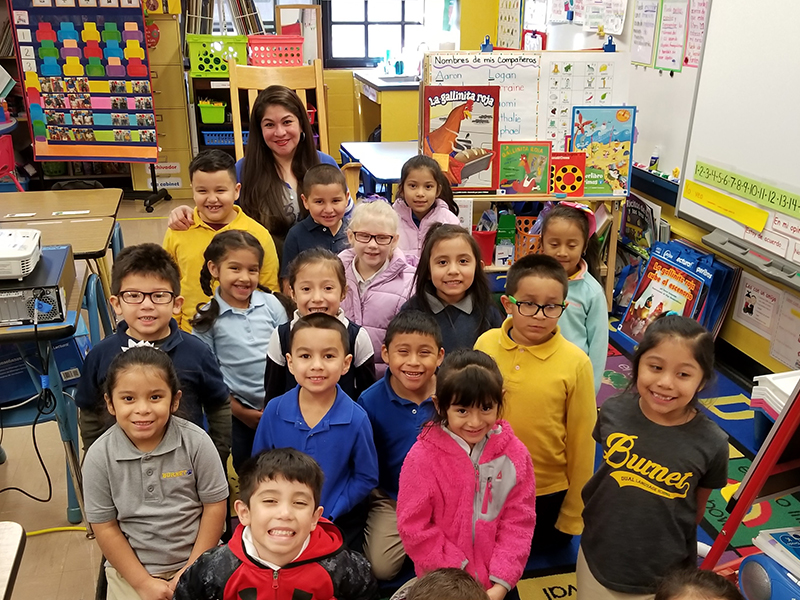 May Dual Language Teacher of the Month