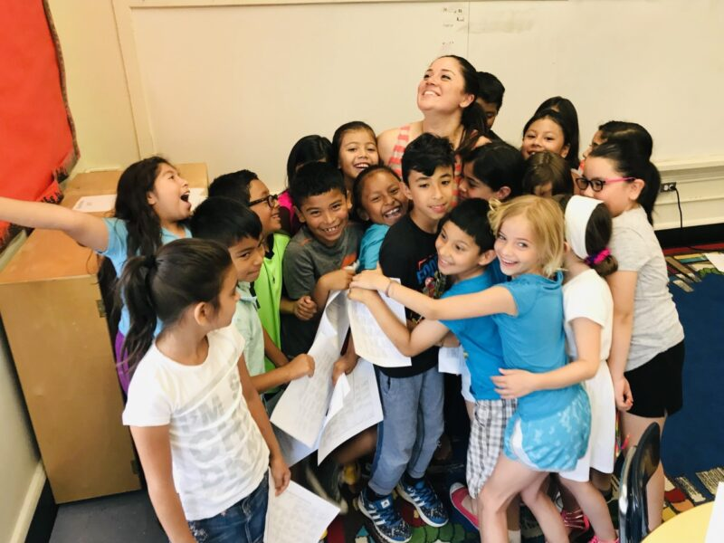 Dual Language May Teacher of the Month: Kristie Almeyda